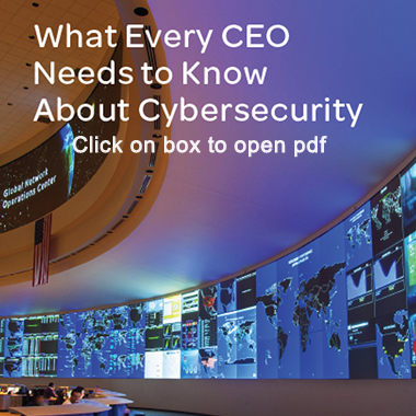 What Every CEO Needs to Know About CyberSecurity